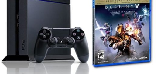 "Promo sur la PS4 500go + Destiny + l'extension ""Le Roi des corrompus"" + Call of Duty Advanced Warfare à 399€ !"