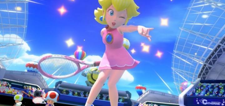 Hem... C'est moi, o� chaque fois qu'elle fait du sport, Peach met des mini jupes sexy ?
