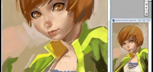Speedpainting : Satonaka Chie de Persona 4 par MadArtist !