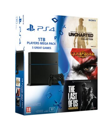 ps4 un nouveau pack avec 3 jeux bient t en europe. Black Bedroom Furniture Sets. Home Design Ideas