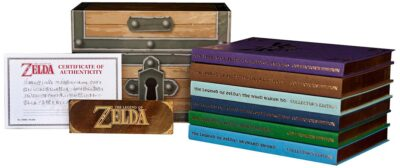 J'ai pas pu résister à la Box Guide Zelda avec certificat d'authenticité. Du coup vous aurez un joli Unboxing...