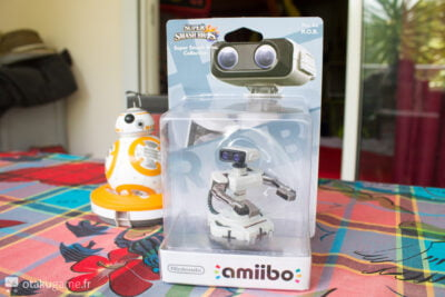 L'Amiibo R.O.B. encore fraîchement emballé !