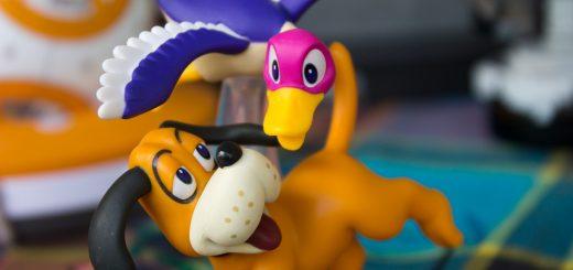 J'avoue. L'Amiibo Duck Hunt est vraiment excellent !