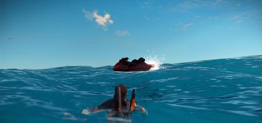 C'est l'heure des vacances ! Et c'est une image in-game (Xbox One)