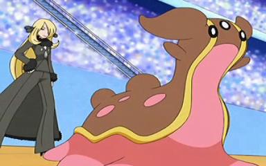 Et ça, c'est son Tritosor dans le dessin animé...