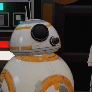 Même BB-8 est en Cell Shading