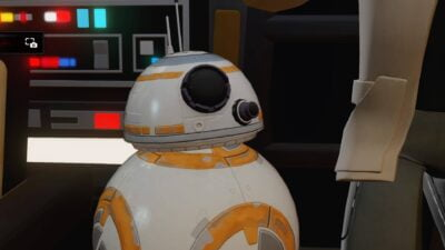 Même BB-8 est en Cell Shading<3 !