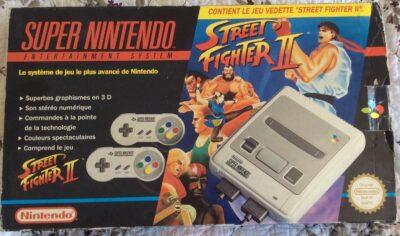 Le pack Super NES Street Fighter II !