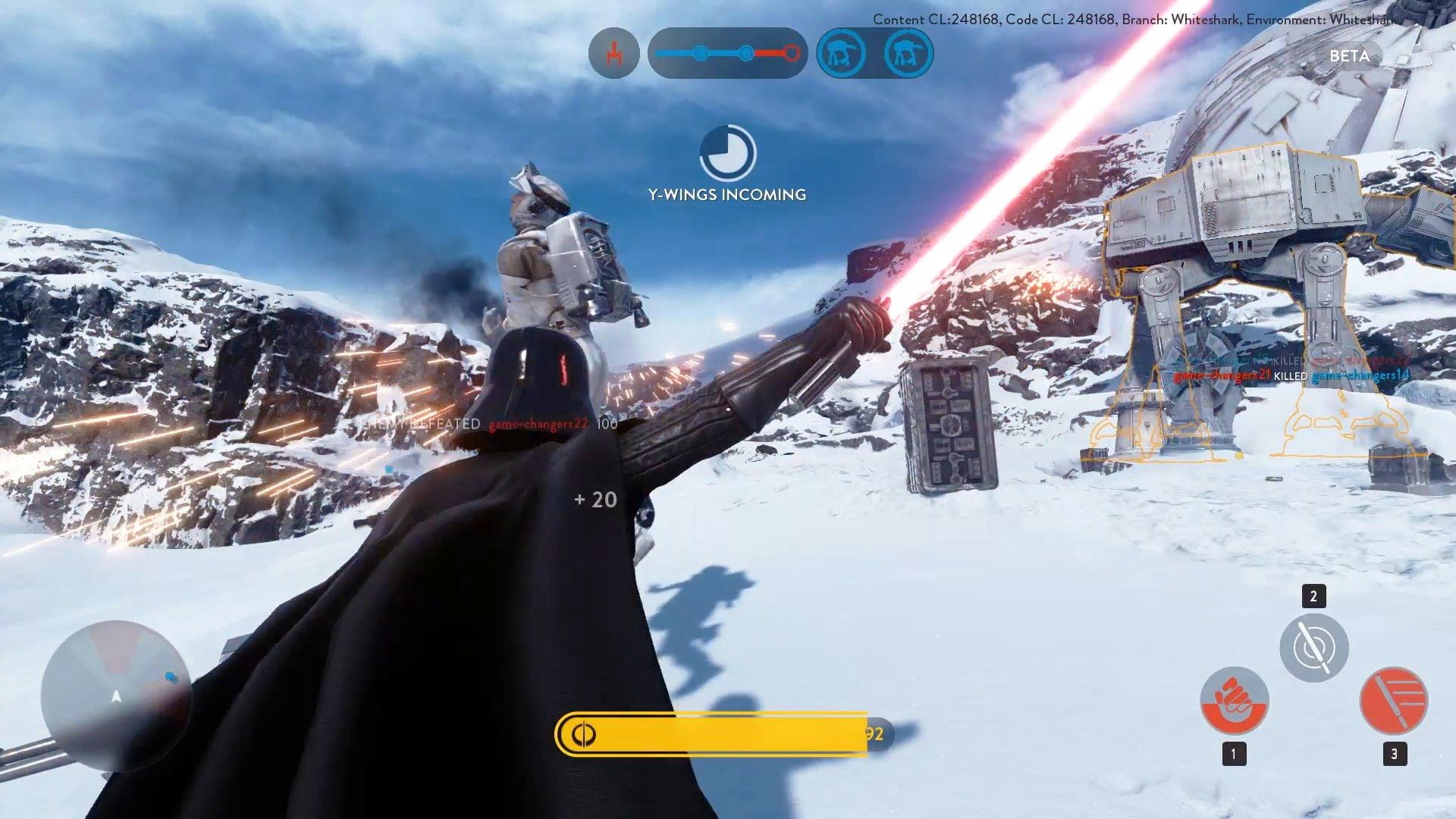 Test 6h Avec Star Wars Battlefront Le Fps Sur M 233 Diatis 233