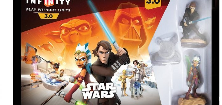 promo disney infinity 3 0 pack star wars 29 99 sur wii u ps4 xbox one. Black Bedroom Furniture Sets. Home Design Ideas