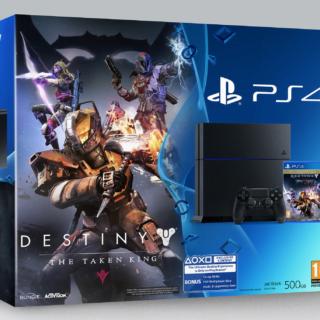 Le pack de base de cette offre est un buncle PS4/Destiny Le Roi des Corrompus