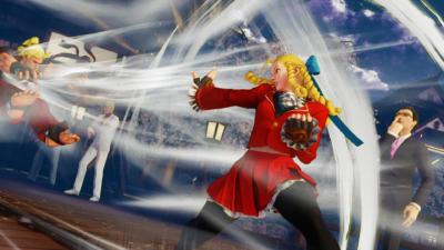 Karin a vraiment la classe, même si son rire énerve tous les joueurs (c'est pour cela que je joue avec).