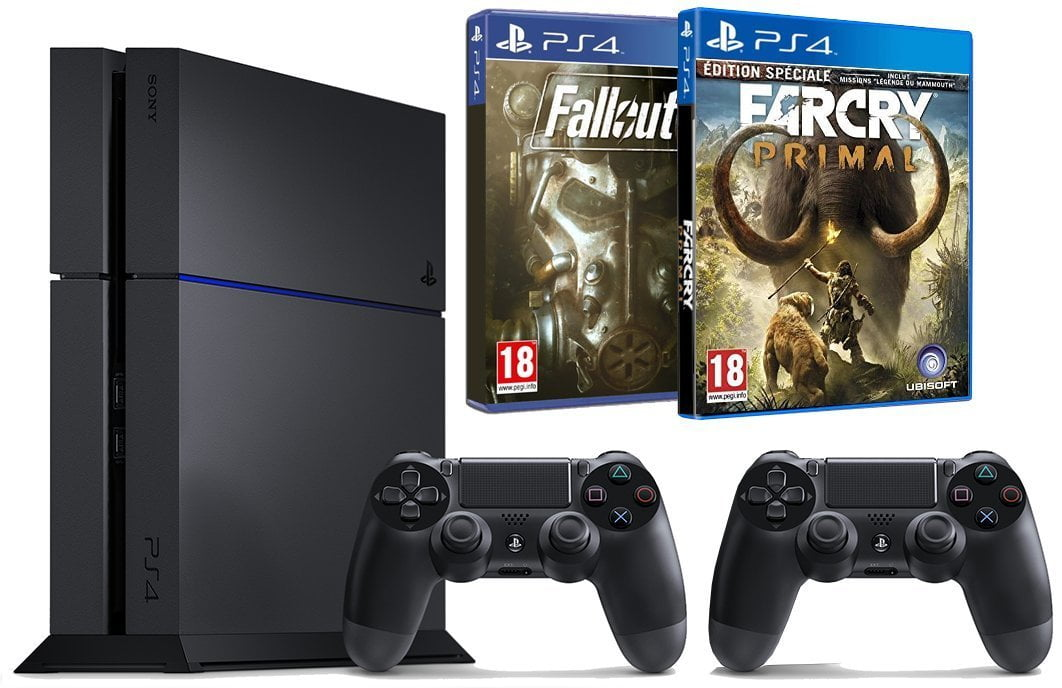 promo la ps4 1to fallout 4 far cry primal the. Black Bedroom Furniture Sets. Home Design Ideas