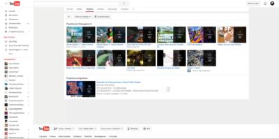Les playlists permettent de mettre de l'ordre dans votre chaîne Youtube.