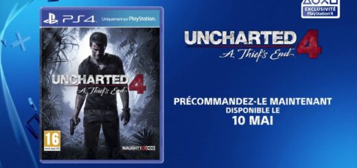 Un trailer hollywoodien de 30 seconde pour Uncharted IV !
