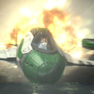 Star Fox Zero est très impressionnant dans sa réalisation. Je n'avais jamais revu de tels effets d'explosion depuis la PS2.