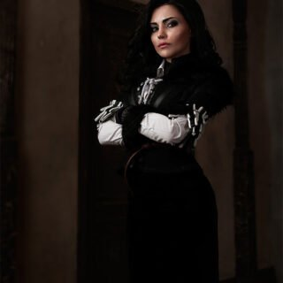 Cosplay de Yennefer (The Witcher 3)