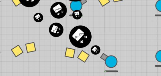 Diep.io est un jeu de Tank massivement multijoueur qui ne s'appelle pas World of Tanks...