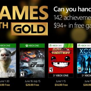Games With Gold : The Crew et Goat simulator gratuits sur Xbox One !