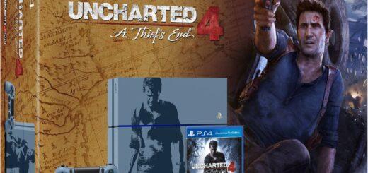 La PS4 édition collector Uncharted 4 + DOOM avec un Steelbook limité à 429€!