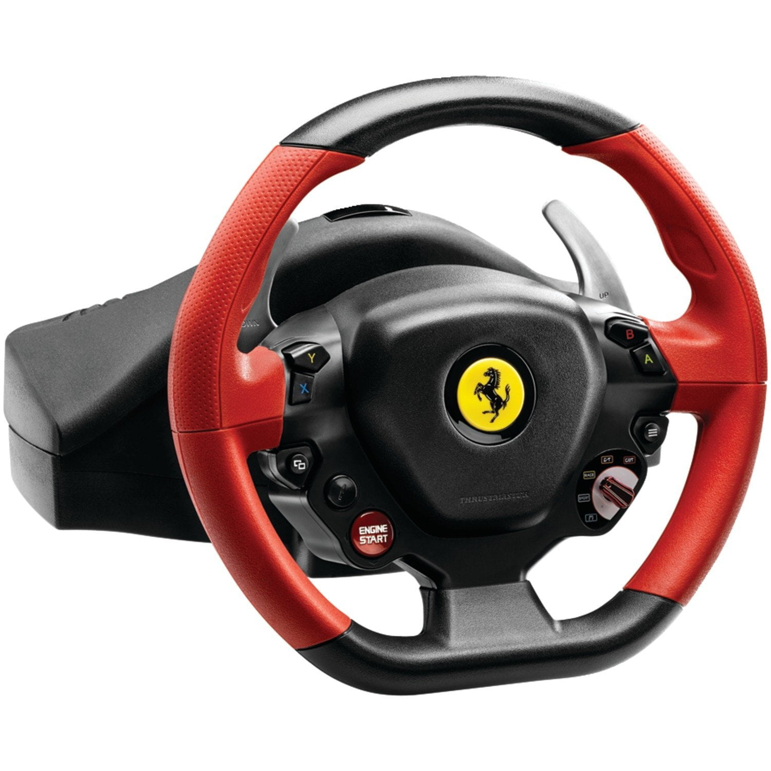 promo volant thrustmaster f458 spider pour xbox one 48. Black Bedroom Furniture Sets. Home Design Ideas