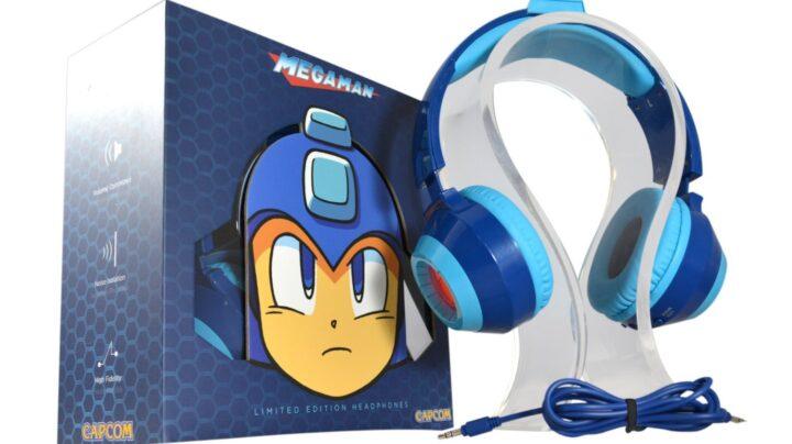 Précommande Le Casque Audio Officiel Megaman Pour 3dsps4xbox