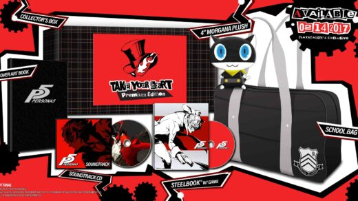 Persona 5 dans son édition collector
