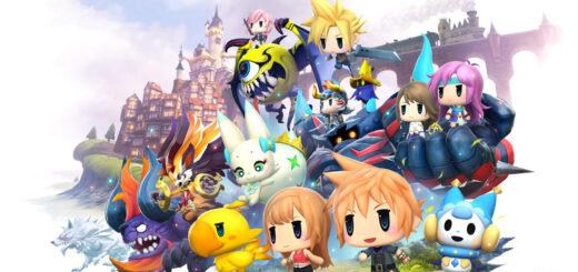 Le charadesign de World of Final Fantasy devrait plaire à certains d'entres vous !