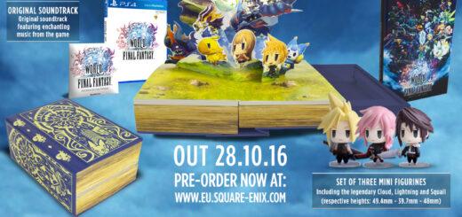 L'édition collector de World of Final Fantasy (PS4)