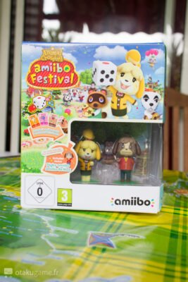 Amiibo Animal Crossing Marie et Max