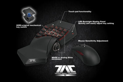 The TAC PRO of Hori mouse is so effective that I'm not sure that this be allowed in eSports ;)!