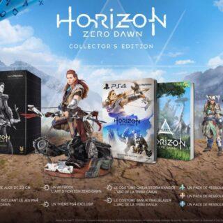 L'édition collector de Horizon sur PS4 est du même acabit que celle d'Uncharted 4 !