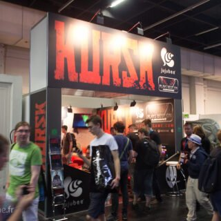 Le stand de Kursk à la Gamescom 2016