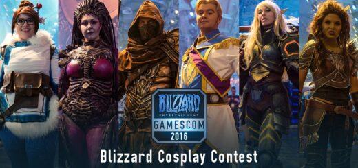 Gamescom 2016 : Revivez le concours de Cosplay Blizzard en vidéo !