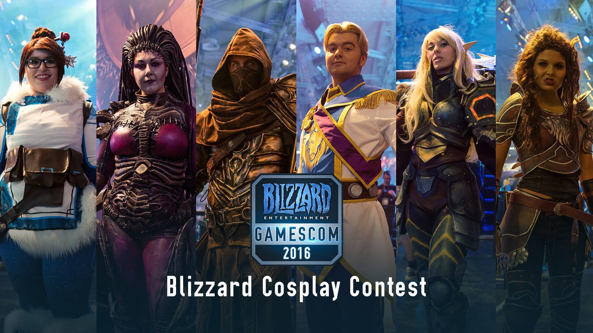 gamescom 2016 revivez le concours de cosplay blizzard en. Black Bedroom Furniture Sets. Home Design Ideas