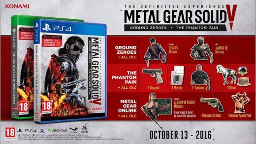 Metal Gear Solid V dans son édition GOTY