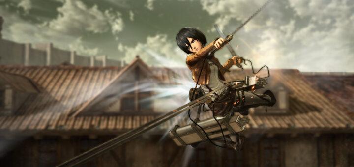 Pas de suspense : Mikasa est jouable, et elle a grave la classe !