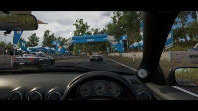 La vue cockpit est plutôt détaillée dans Forza Horizon 3 !