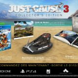 Just Cause 3 en édition collector à 50€ !