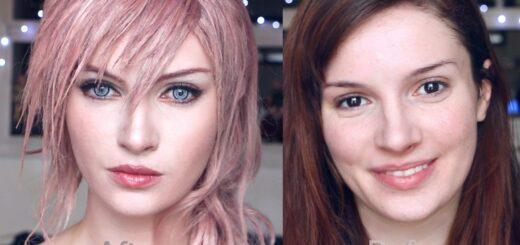 C'est l'heure d'un tuto make up pour ressembler à Lightning de Final Fantasy XIII !
