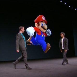 Shigeru Miyamoto à la Keynote d'Apple...