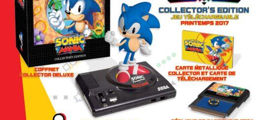 Collector de Sonic Mania