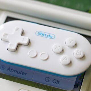 Unboxing : La mini manette 8bitdo Zero, une manette «Switch-Like» !