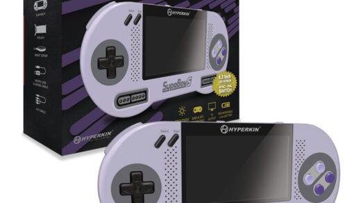 La SupaBoy S permet de jouer aux jeux PAL comme NTSC.