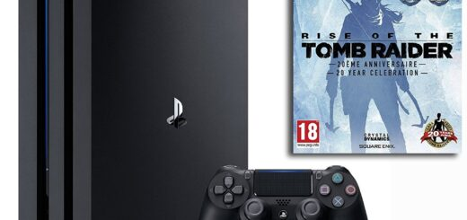 La PS4 Pro + Rise of The Tomb Raider à 399€ !
