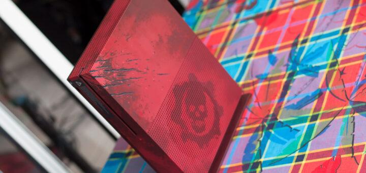 Cette Xbox One S édition collector Gears of War 4 est une des plus belle console collector que j'ai vu !