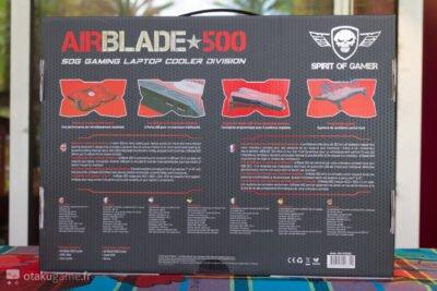 Le AirBlade 500 nous promet de maîtriser notre température...