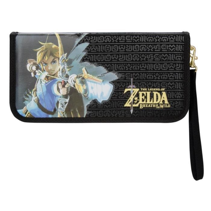 Promo la pochette nintendo swith zelda breath of the for Housse zelda