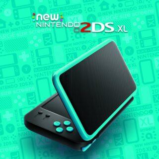 La new 3DS XL bleue