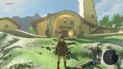 Je visite un nouveau village, plutôt sympa ^^ !